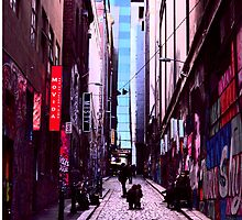 Hosier Lane by Dominic Taranto