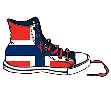 Basketball Shoe Norway Photographic Print