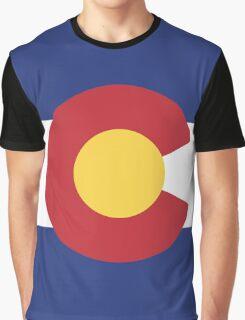 Colorado Flag Graphic T-Shirt
