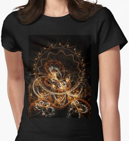 Butterfly - Abstract Fractal Artwork Womens Fitted T-Shirt