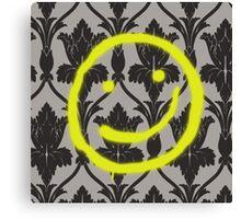 Sherlock Smile Canvas Print