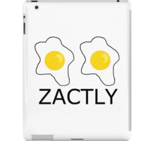 Egg-zactly What You've Needed iPad Case/Skin