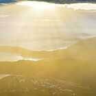 Mt Oberon Summit View, Wilsons Promontory, Victoria Australia by Michael Boniwell