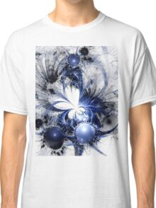 Blizzard - Abstract Fractal Artwork Classic T-Shirt