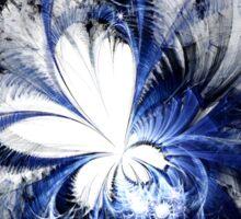 Blizzard - Abstract Fractal Artwork Sticker