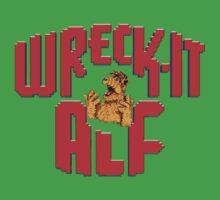Wreck it Alf One Piece - Short Sleeve