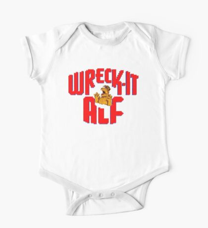 Wreck it Alf One Piece - Short Sleeve