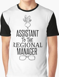 Dwight Schrute - Assistant to the Regional Manager Graphic T-Shirt