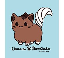 Sweet Treat Kitties - Chococoa Mewshake Photographic Print