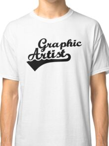 Graphic artist Classic T-Shirt
