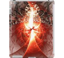 Black Widow - Abstract Fractal Artwork iPad Case/Skin