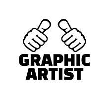 Graphic artist Photographic Print
