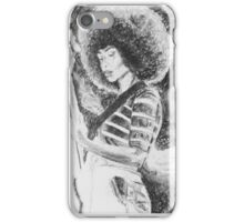 Jazz bassist. iPhone Case/Skin