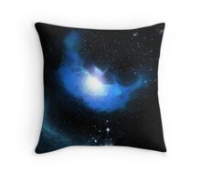 The Ocean-Floor Nebula Throw Pillow