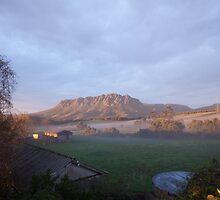 Mount Roland Sheffield Tasmania by grorr76
