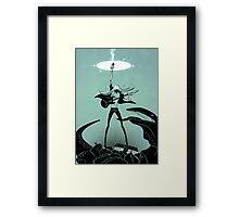 Power Chord Framed Print