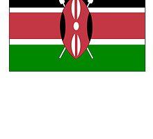 Kenya Flag by kwg2200