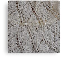 Gossamer Knitting   Canvas Print