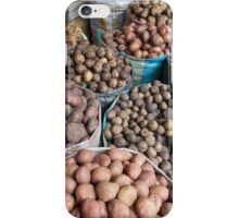 Lots of varieties of spuds iPhone Case/Skin