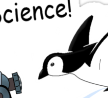 Penguin Science Sticker