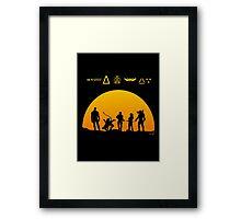 Team killer galaxy Framed Print
