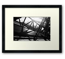 Cherry Street Bridge Framed Print