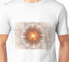 Aztec Medailon - Abstract Fractal Artwork Unisex T-Shirt