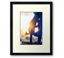 Tied Off Framed Print