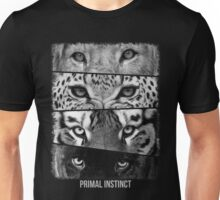 Primal Instinct - version 4 - with text Unisex T-Shirt