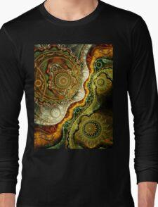 Autumn - Abstract Fractal Artwork Long Sleeve T-Shirt