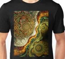 Autumn - Abstract Fractal Artwork Unisex T-Shirt