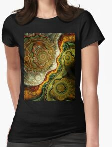 Autumn - Abstract Fractal Artwork Womens Fitted T-Shirt