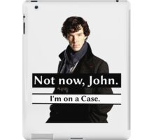 I'm on a Case. iPad Case/Skin
