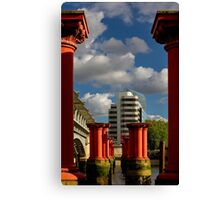 A view in London Canvas Print