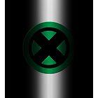 X-Men Logo: Green by LeeAnn Ellison