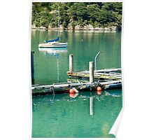 Queen Charlotte Sound XI, Portage Poster