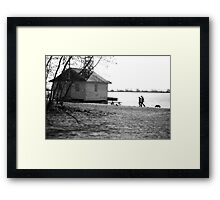 Cherry Beach Walk Framed Print