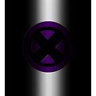 X-Men Logo: Purple by LeeAnn Ellison