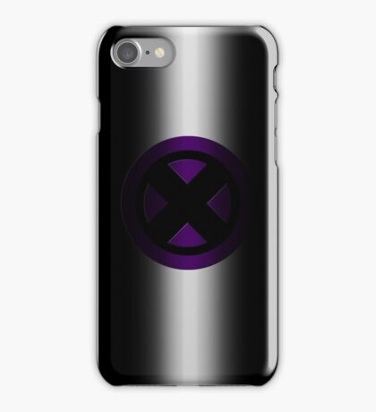 X-Men Logo: Purple iPhone Case/Skin