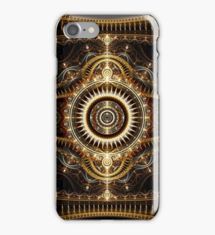 All Seeing Eye - Abstract Fractal Artwork iPhone Case/Skin