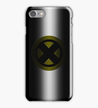 X-Men Logo: Yellow iPhone Case/Skin