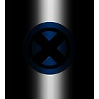 X-Men Logo: Blue by LeeAnn Ellison