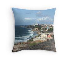 Old San Juan, Puerto Rico Throw Pillow