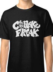 Cupcake Freak : white letters Classic T-Shirt