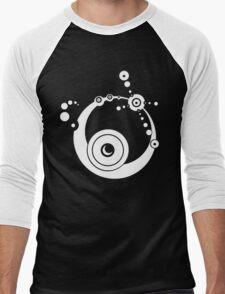 Equinox (White) Men's Baseball ¾ T-Shirt