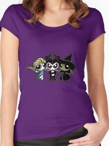 Powerpuff Witches Women's Fitted Scoop T-Shirt