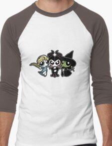 Powerpuff Witches Men's Baseball ¾ T-Shirt