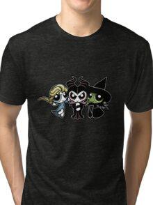 Powerpuff Witches Tri-blend T-Shirt