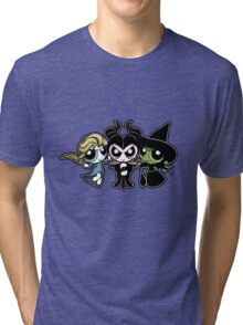 Powerpuff Witches Tri-blend T-Shirt