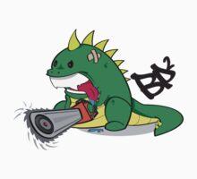BP2 Dino Logo Tee by eL7e